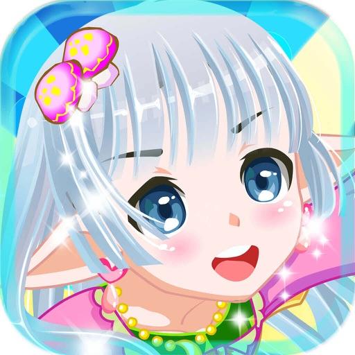 Flower Fairy - Cute Princess Make-up Salon,Girl Free Games iOS App