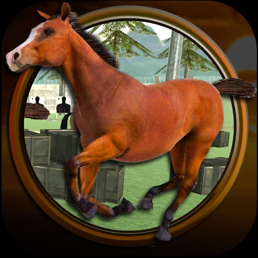 Wild Stray Horse Fury Simu-lator iOS App