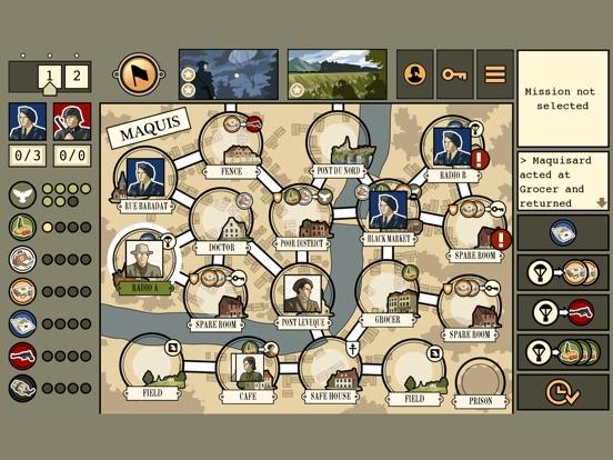 Screenshot #2 for Maquis Board Game