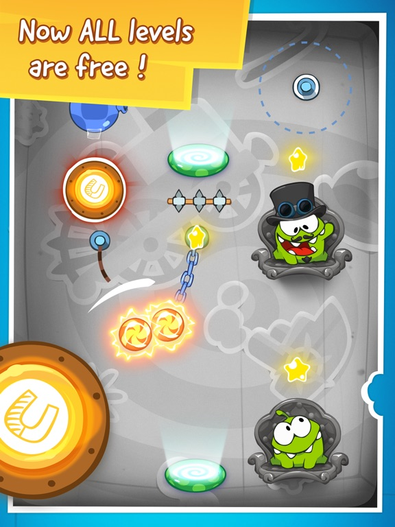 Screenshot #5 for Cut the Rope: Time Travel™