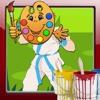 Coloring Games ken Street Fighter Version
