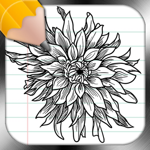 Drawing Lessons Flower Tattoo Design iOS App