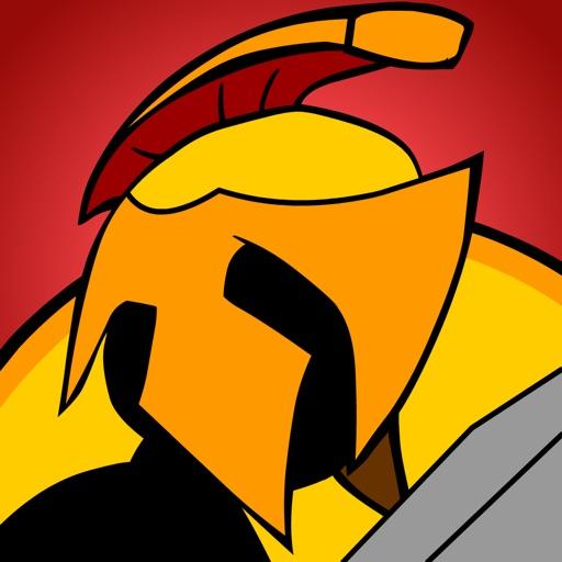 Clash and Battle Spartans iOS App