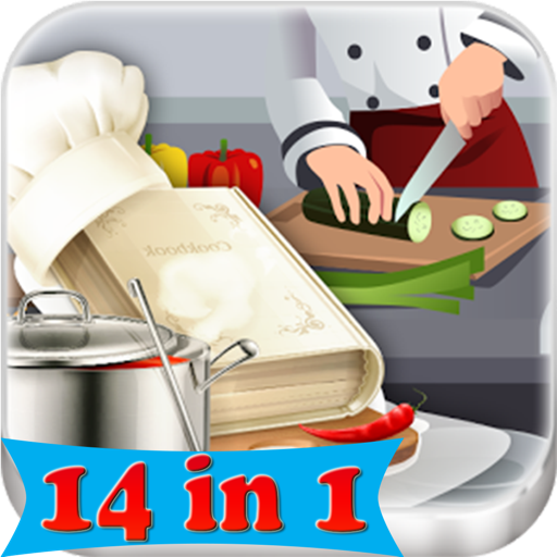 Master Chef - 14 in 1 Cooking Game