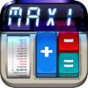Калькулятор MaxiCalc Pro: Ретро память, с печатью