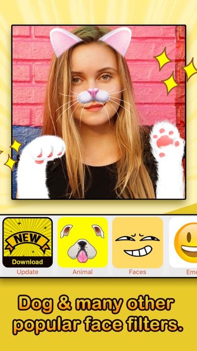 Face Filters - Dog & Other Funny Face EffectsCapture d'écran de 1