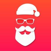 Рождественские Фото эффекты- эльф себя Санта стенд
