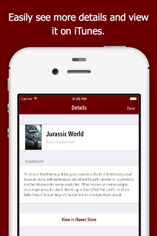 moviElect - Decide Which iTunes Movie or Rental to Watch for TV & Mobile screenshot 4