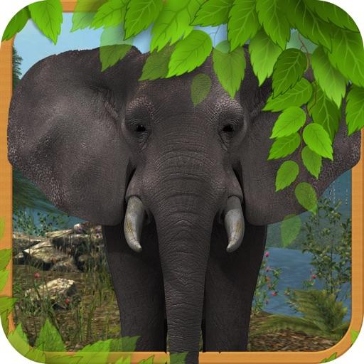 Wild Stray Big Elephant Simulator Unlimited 3D iOS App