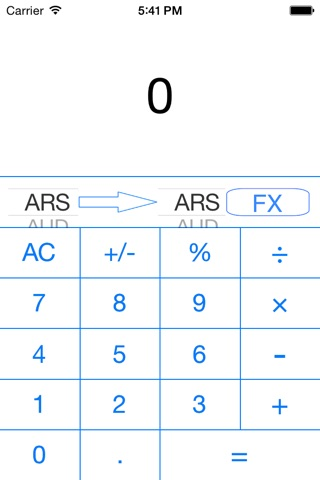 FX Currency Rates Calculator screenshot 4