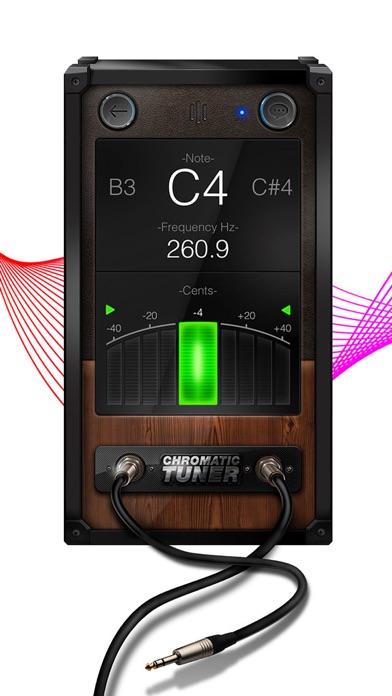 Chromatic Guitar Tuner - Ukulele, Guitar, Bass Screenshot