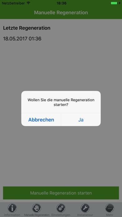 Screenshot von myGrünbeck5