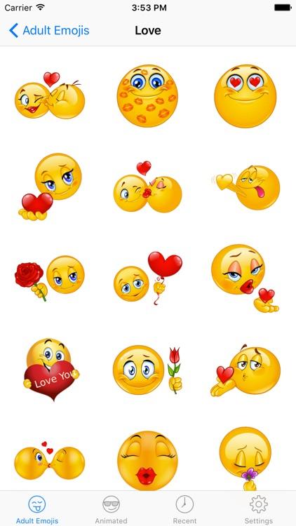 Adult Emoji Icons - Naughty & Dirty Emoticons