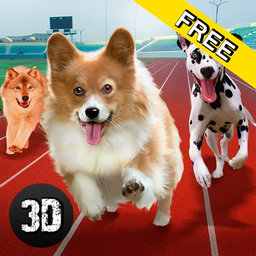 Dog Racing Tournament Sim 3D iOS App