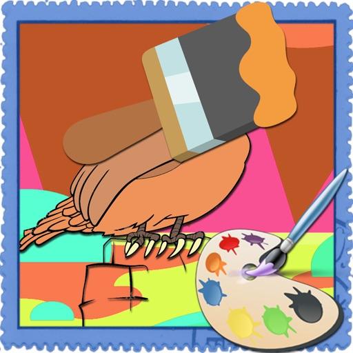 Coloring Pages Bird Version iOS App