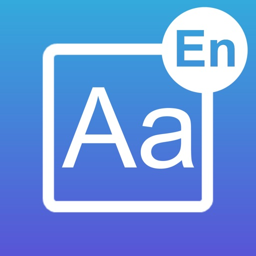 English Alphabet. Learning Cards And Quiz iOS App