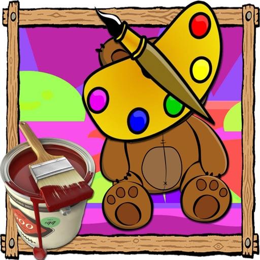 Coloring Pages Bonnie Bears Version iOS App