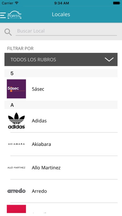 local adidas portal rosario shopping