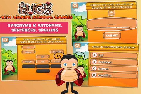 Bugs Fourth Grade Kids Games School Edition screenshot 3