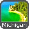 Michigan & Superior Lakes GPS Map Navigator
