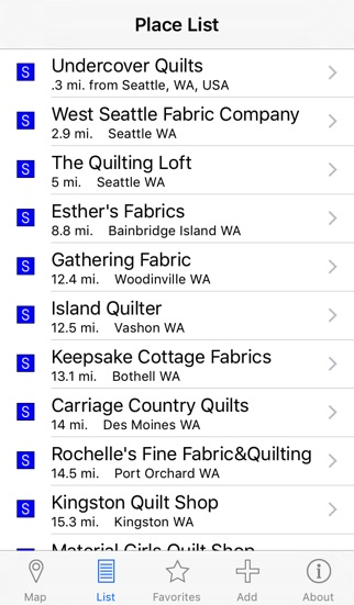 Quilt Shop Locator on the App Store : quilt shop locator app - Adamdwight.com
