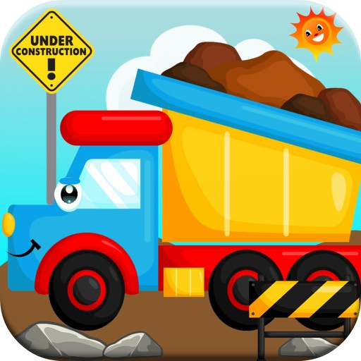 Kids Construction Trucks ! Big Truck Games iOS App