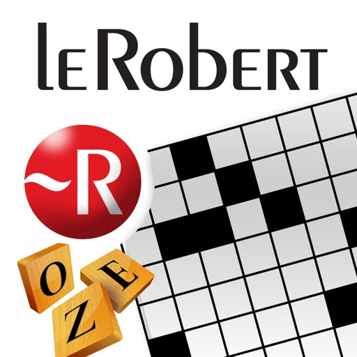 Dictionnaire de mots croisés et de jeux de lettres Le Robert