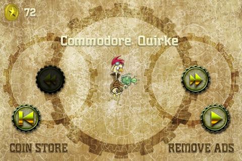 Steampunk Chicken - Free iPhone/iPad Racing Edition screenshot 2
