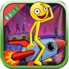 Stickman Dancing 2 : Sonic Speed Rocket Rider Edition