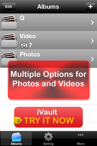 Vault* Free - Hidden Photo & Video Safe for iPhone, iPad & iPod Touch screenshot 4