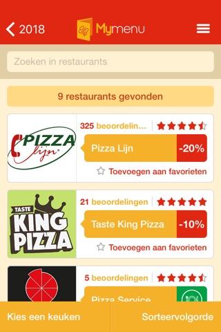 MyMenu.be | Online Eten Bestellen - Pizza Bestellen screenshot 3