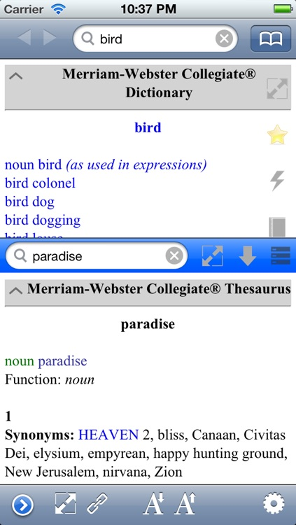 Merriam Wester Dictionary & Thesaurus by khanh le phu