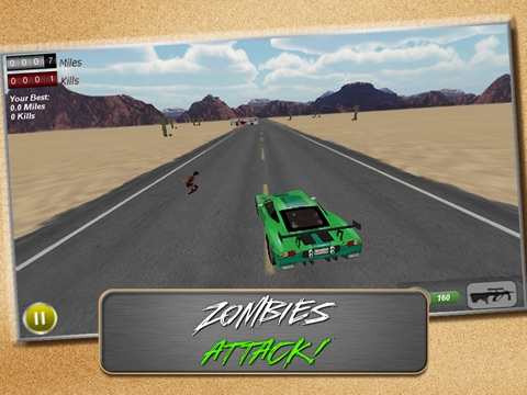 Screenshot #6 pour Drive with Zombies 3D