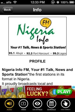 Nigeria Info FM screenshot 4