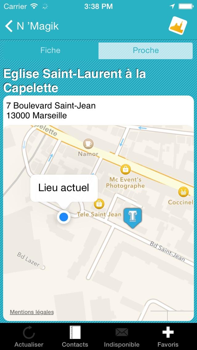 Click 'n Visit - Marseille CalanquesCapture d'écran de 4