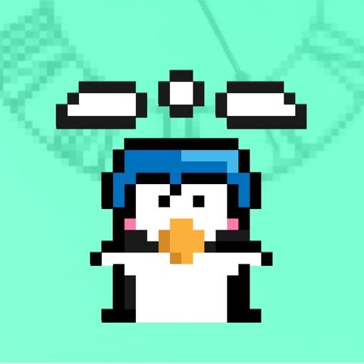 Downward Penguin iOS App