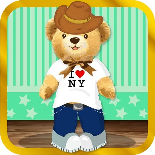 Cute and Cuddly Teddy Bear - ADVERT FREE Dress Up Game iOS App