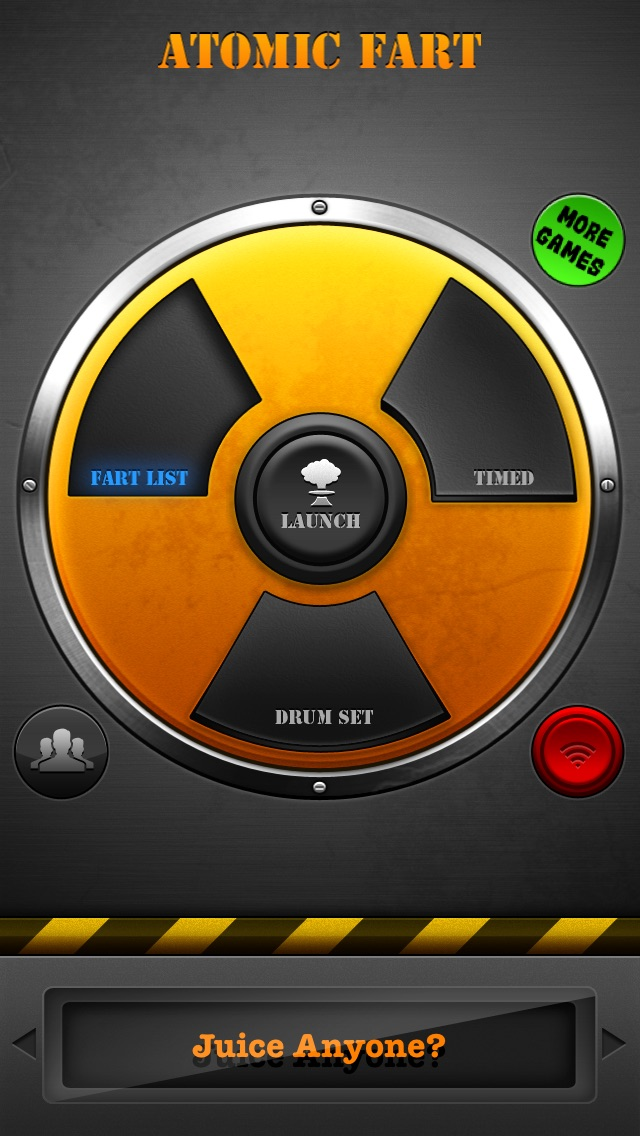 Screenshots of Atomic Fart FREE for iPhone