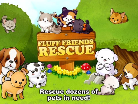 Screenshots of Fluff Friends Rescue ™ for iPad