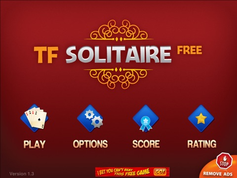 TF Solitaire Cards Game HD free screenshot 1