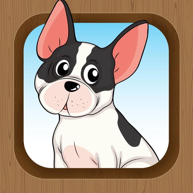actif jeux pour les enfants avec des chiens apprendre et jouer pour la maternelle l 39 cole. Black Bedroom Furniture Sets. Home Design Ideas