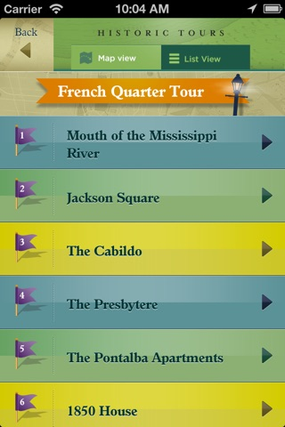 French Quarter, Garden District Historic Tours and New Orleans Streetcar Tracker screenshot 4