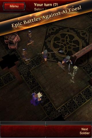 Battle Dungeon: Risen Lite screenshot 1