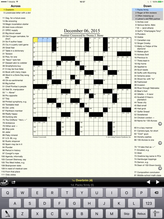 Crosswords Classic Скриншоты9