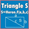 Square calculator(heron Formula) Triangle S