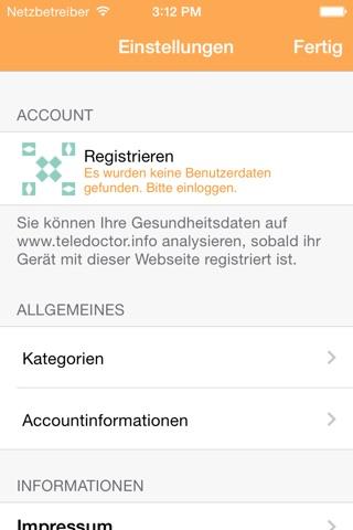 MobileMediPad screenshot 4