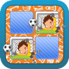 Memo Game Sport Cartoon for kids and young childs childrens game games toddler children app