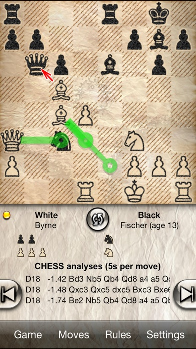 Screenshots of Chess Free - with coach for iPhone