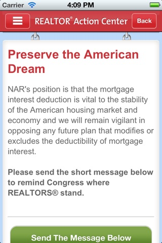 NAR Action Center screenshot 3