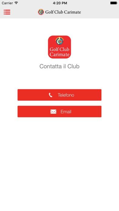 Screenshot of Golf Club Carimate4